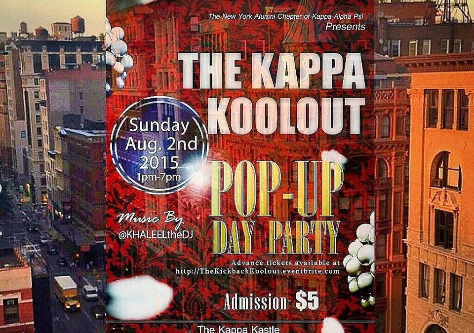 The Kappa Koolout Pop-Up Day Party